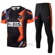 Chandal del Paris Saint-Germain Jordan Manga Corta 2019-2020 Negro
