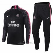 Chandal del Paris Saint-Germain Nino 2018-2019 Negro