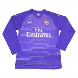 Camiseta Arsenal Portero Manga Larga 2018-2019 Purpura