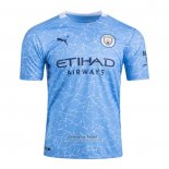 Camiseta Manchester City Authentic 1ª 2020-2021