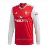 Camiseta Arsenal 1ª Manga Larga 2019-2020 (2XL-4XL)