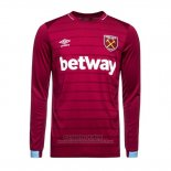 Camiseta West Ham 1ª Manga Larga 2018-2019
