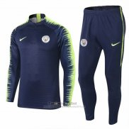 Chandal del Manchester City 2018-2019 Azul