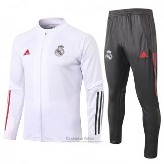 Chandal de Chaqueta del Real Madrid 2020-2021 Blanco