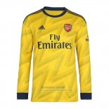 Camiseta Arsenal 2ª Manga Larga 2019-2020 (2XL-4XL)
