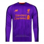 Camiseta Liverpool 2ª Manga Larga 2018-2019