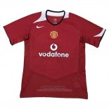 Camiseta Manchester United 1ª Retro 2005-2006