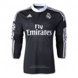 Camiseta Real Madrid 2ª Manga Larga Retro 2014-2015