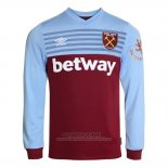 Camiseta West Ham 1ª Manga Larga 2019-2020