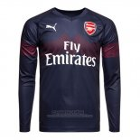 Camiseta Arsenal 2ª Manga Larga 2018-2019