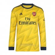 Camiseta Arsenal 2ª Manga Larga 2019-2020