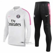 Chandal del Paris Saint-Germain 2018-2019 Blanco