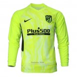 Camiseta Atletico Madrid 3ª Manga Larga 2020-2021