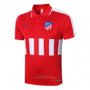 Camiseta Polo del Atletico Madrid 2020-2021 Rojo