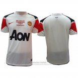 Camiseta Manchester United 2ª Retro 2010-2011