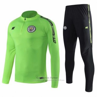 Chandal del Manchester City 2019-2020 Verde