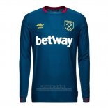 Camiseta West Ham 2ª Manga Larga 2018-2019
