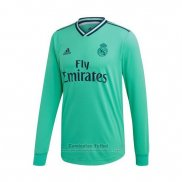 Camiseta Real Madrid 3ª Manga Larga 2019-2020 (2XL-4XL)