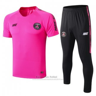Chandal del Paris Saint-Germain Manga Corta 2019-2020 Rosa
