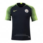 Camiseta de Entrenamiento Manchester City Authentic 2018-2019 Azul