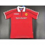 Camiseta Manchester United 1ª Retro 1998-1999
