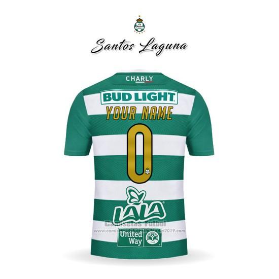 b264edc7b9 Comprar Camiseta Santos Laguna 1ª Personalizada 2018-2019