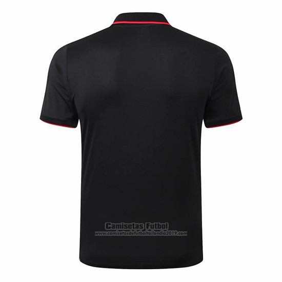 Camiseta Polo del Atletico Madrid 2019-2020 Negro