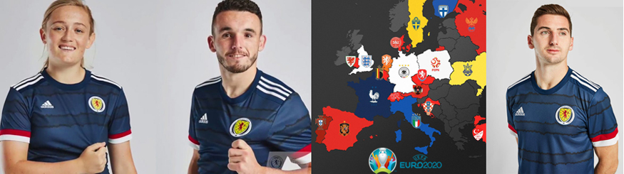camiseta Escocia 2020
