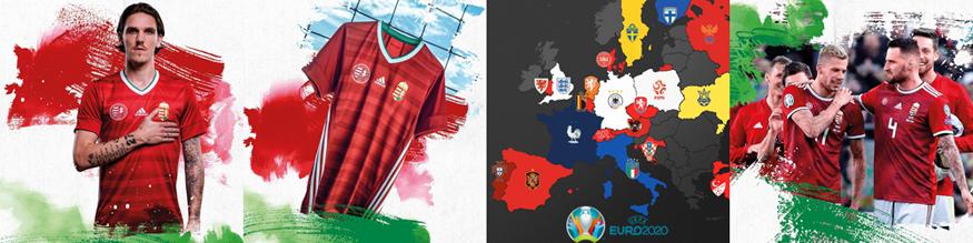 camiseta Hungria 2020