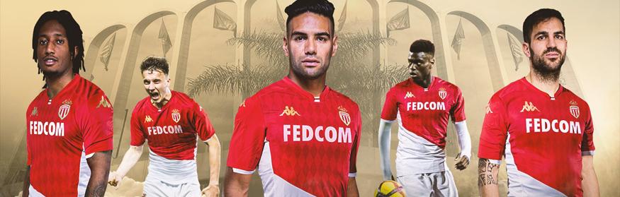 camiseta Monaco 2020