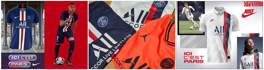 camiseta Paris Saint-Germain 2020