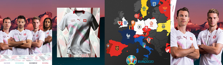camiseta Suiza 2020