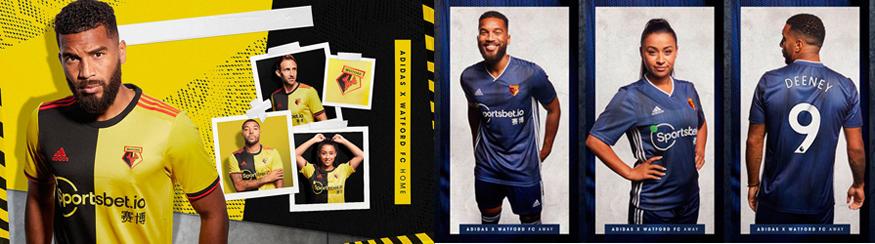 camiseta Watford barata 2019 2020