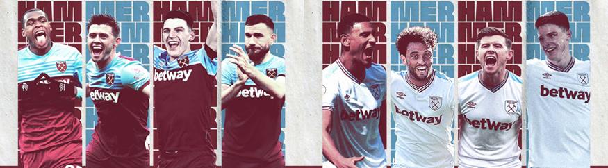 camiseta West Ham barata 2019 2020