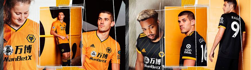 camiseta Wolves barata 2019 2020
