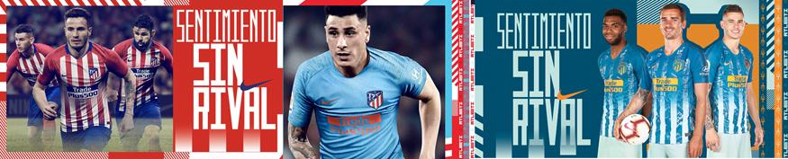 camisetas Atletico Madrid baratas tailandia 2018-2019
