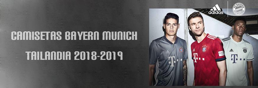 camisetas Bayern Munich baratas tailandia 2018-2019
