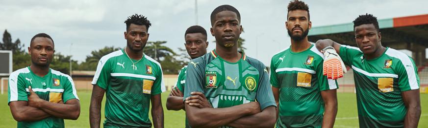 camisetas Camerun baratas tailandia 2018