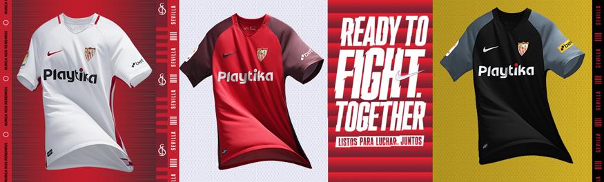 camisetas Sevilla baratas tailandia 2018-2019