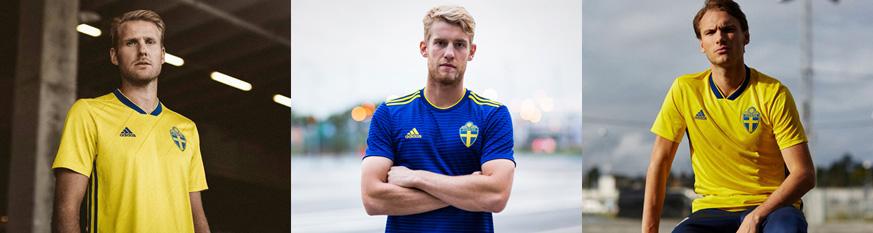 camisetas Suecia baratas tailandia 2018