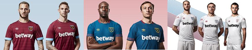 camisetas West Ham baratas tailandia 2018-2019