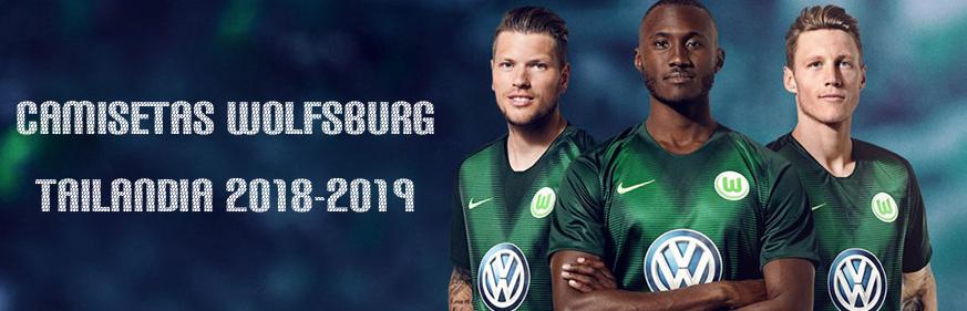 camisetas Wolfsburg baratas tailandia 2018-2019