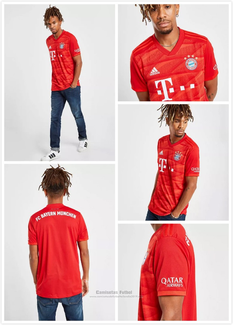 Camisetas Bayern Munich Primera baratas 2019-2020