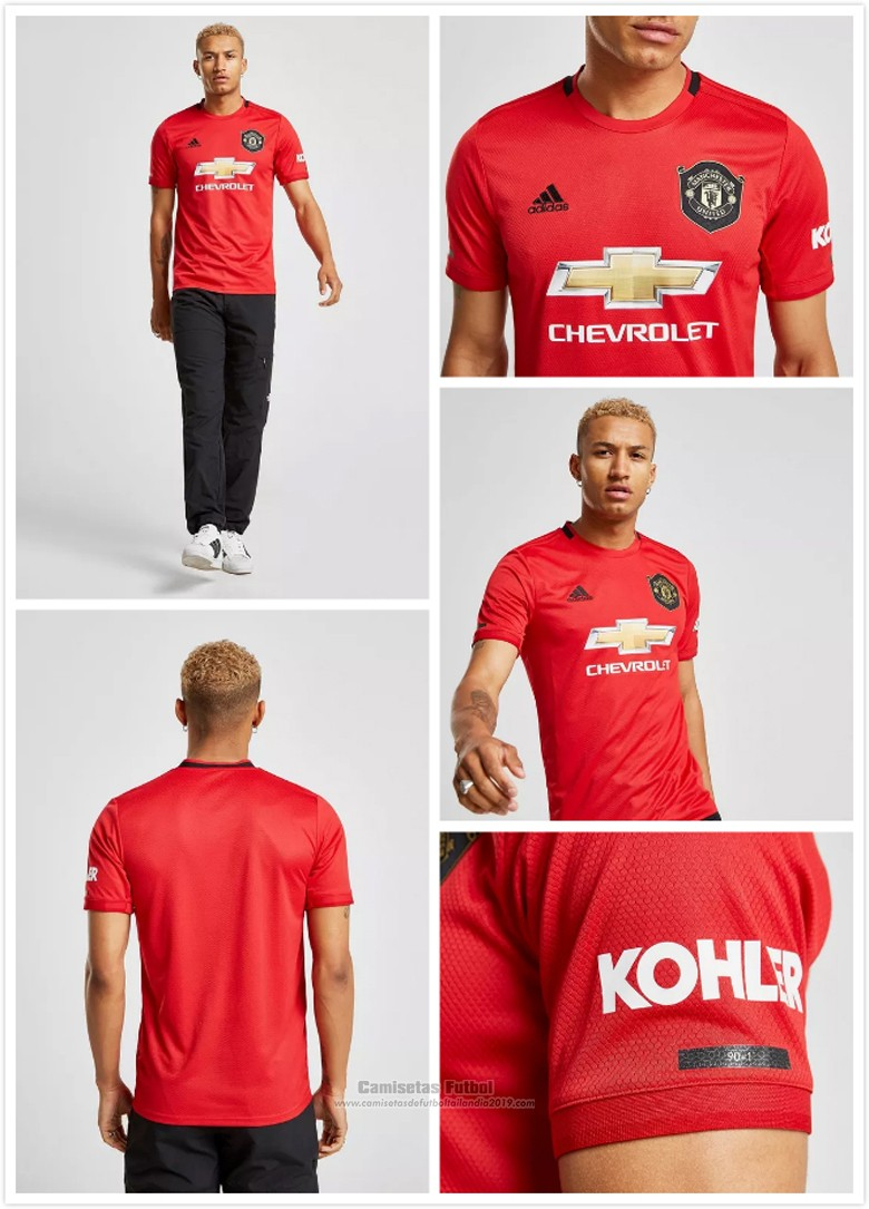 Camisetas Manchester United Primera baratas 2019-2020