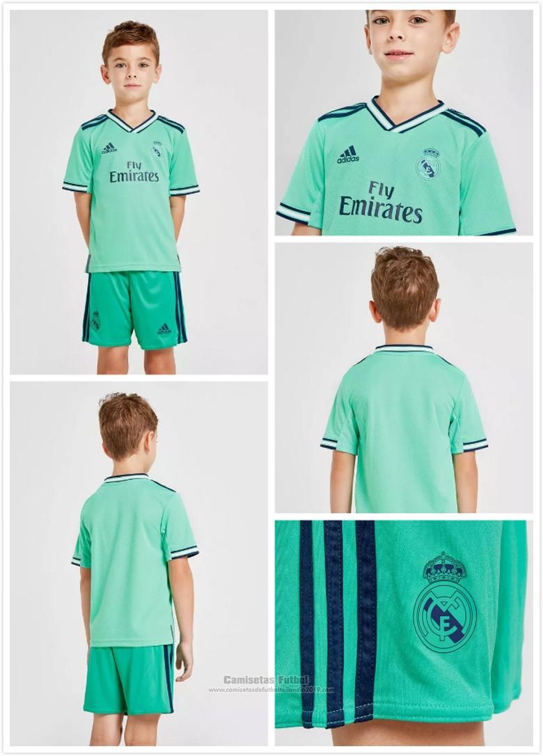 Camisetas Real Madrid Tercera Nino baratas 2019-2020